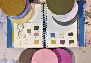 Gama de colores Chalk Paint Annie sloan Estilo Clásico