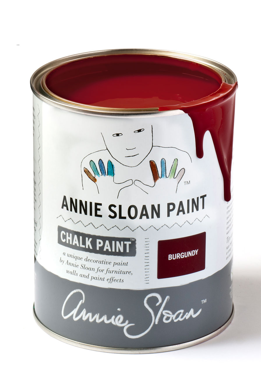 Burgundy un rojo intenso agranatado - TRATE Tienda Taller - Chalk Paint Annie Sloan