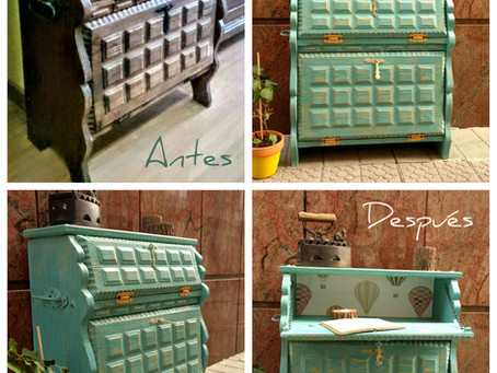 Antes y después con Chalk Paint™ Annie Sloan