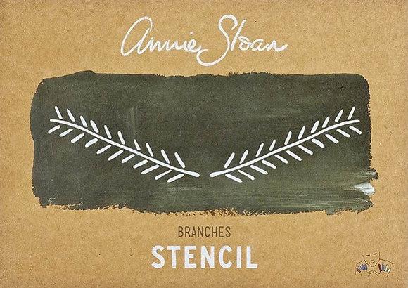 Branches, A4 Stencil by Annie Sloan