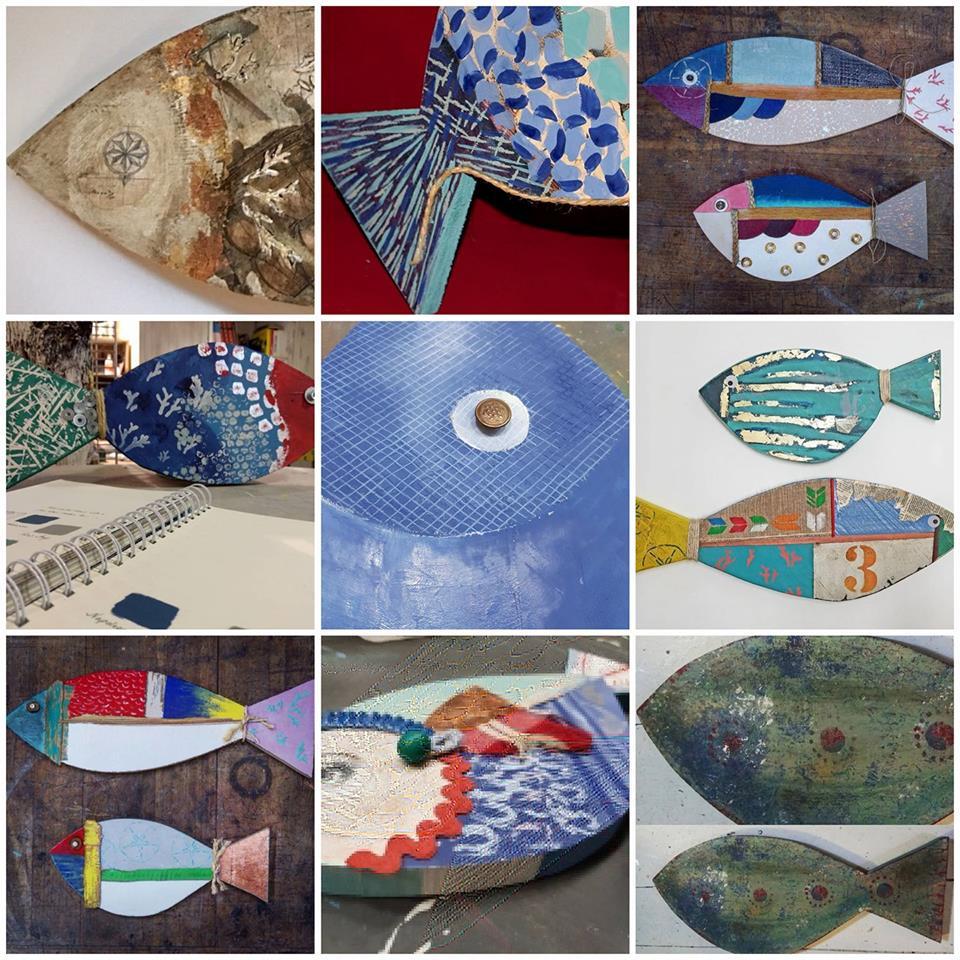 Trabajos presentados para el concurso de Chalk Paint  en los diferentes puntos de venta - Primer Premio Annie Sloan Spain - Estilo Coastal