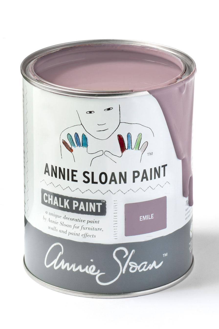 Emile un morado cálido, nos recuerda al color de la lavanda - TRATE Tienda Taller - Chalk Paint Annie Sloan
