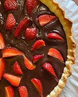 🌱Une belle tarte Chocolat & Fraise - Fa