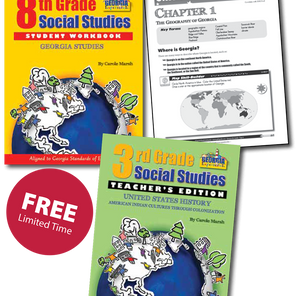 Gallopade Offers Free K-8 Social Studies to the State of Georgia for a Limited Time