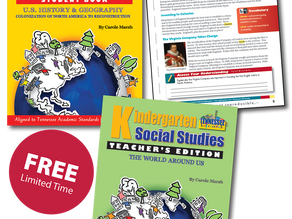 Free 3-8 Social Studies for Tennessee (Limited Time Offer)