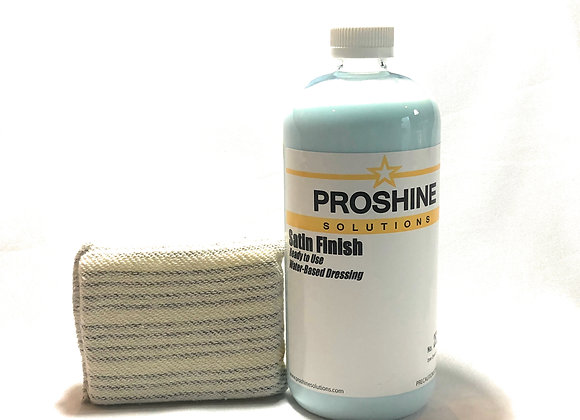 Satin Finish Dressing with Applicator Pad
