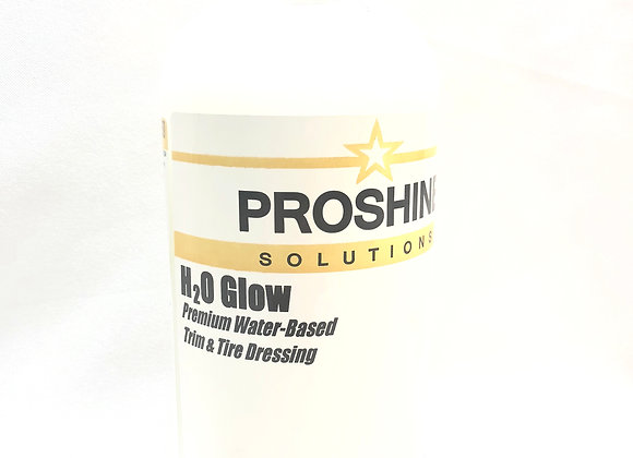 H2O Glow Water Based Trim and Tire Dressing - 1 Quart