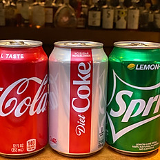 Coke / Diet Coke / Sprite (12oz)