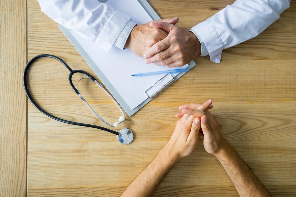 Converse com seu médico