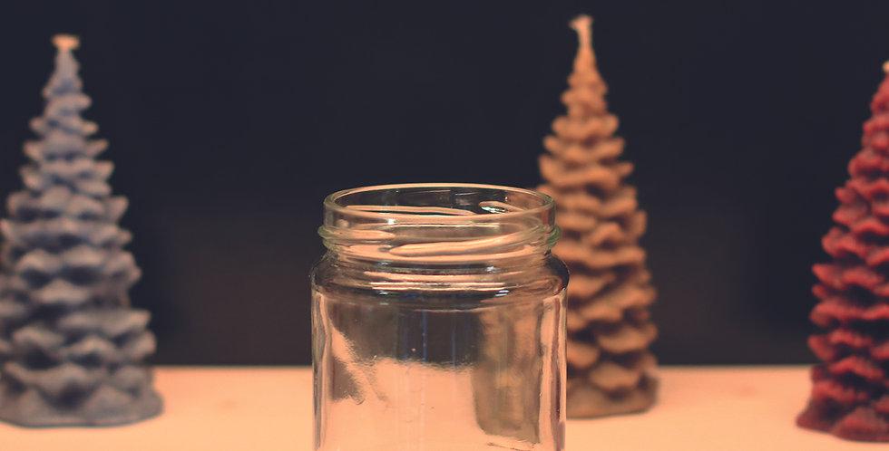 256.000 Bocaux en verre  250 g / 212 ml