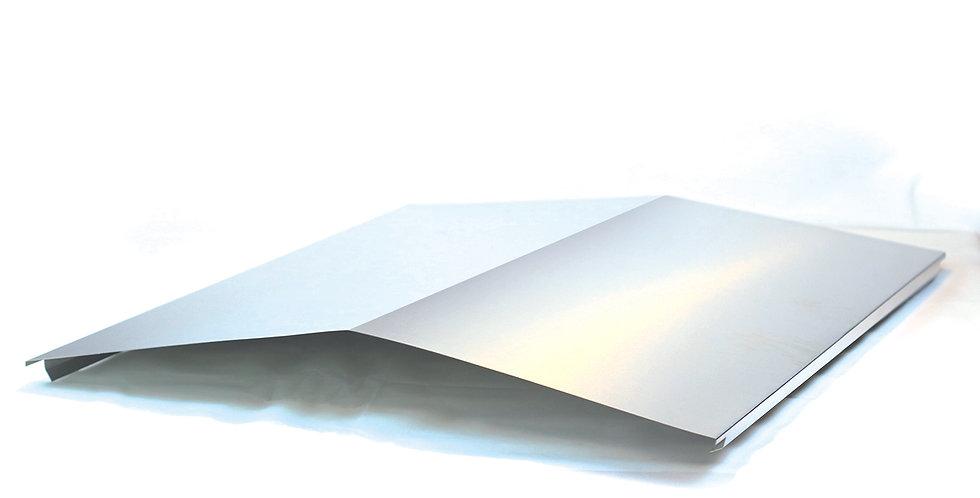 Tôle aluminium avec 5 plis
