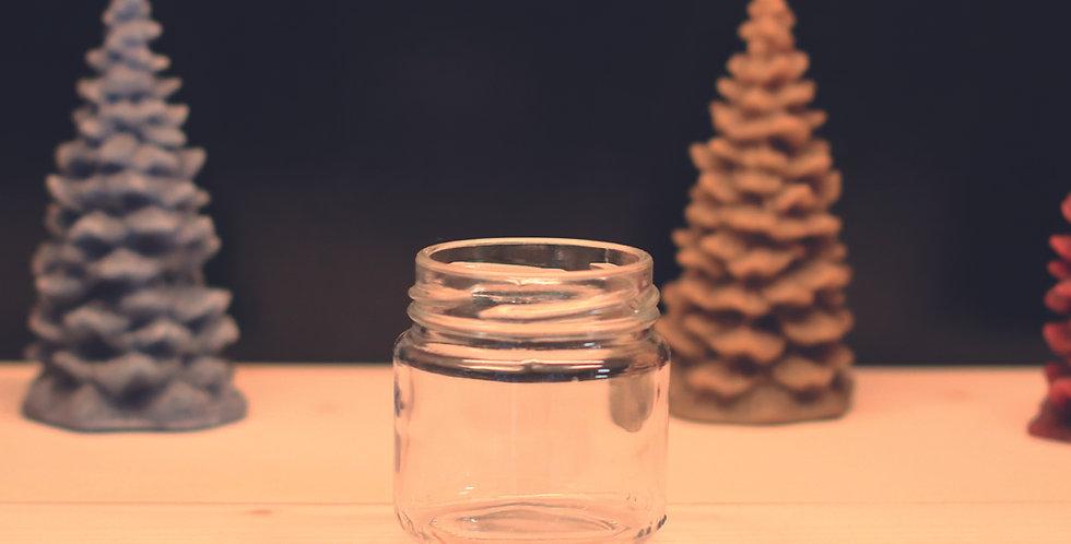 257.000 Bocaux en verre  125 g / 106 ml