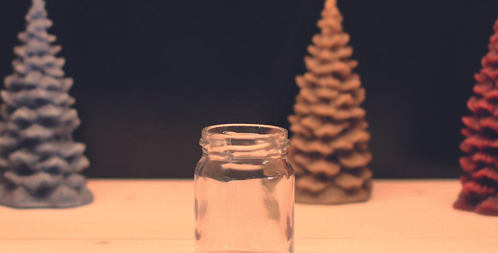 259.000 Bocaux en verre  50 g / 40 ml