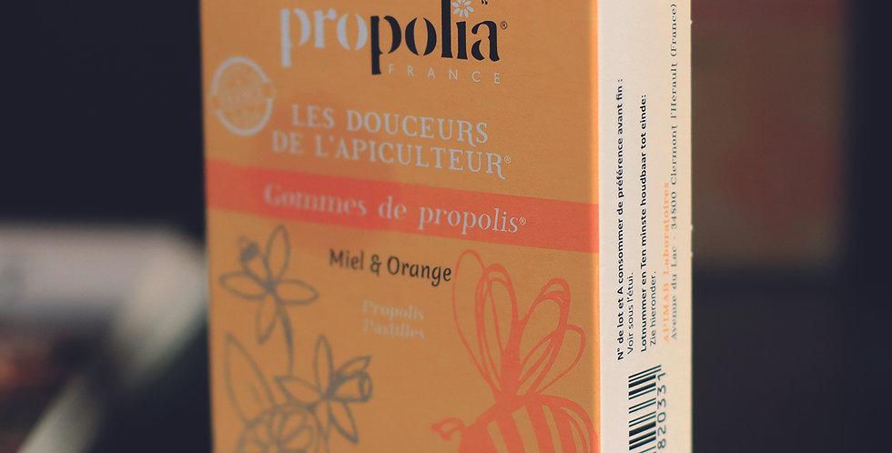 300.538 Gommes à la propolis, miel et orange