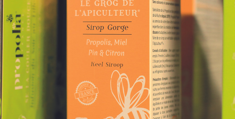 300.545 Sirop de propolis, contre la toux