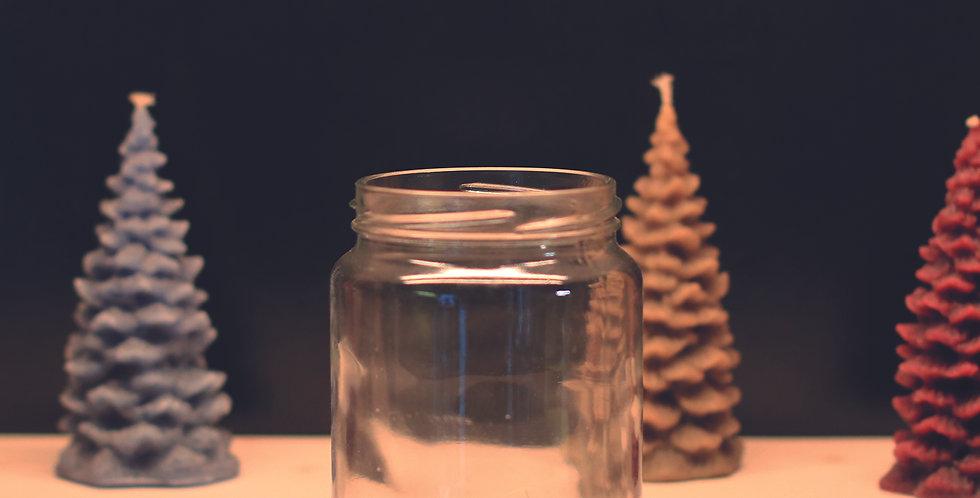 253.000 Bocaux en verre  390 ml lisse