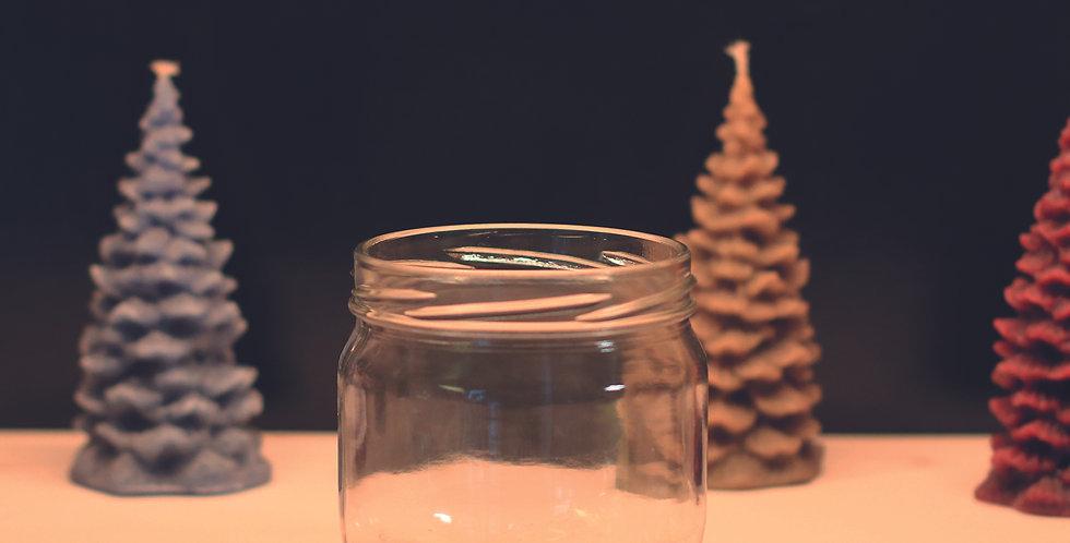 249.000 Bocaux en verre   370 ml  Forme Basse