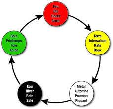 les 5 éléments en méecine chinoise
