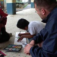 Atelier au Guatemala