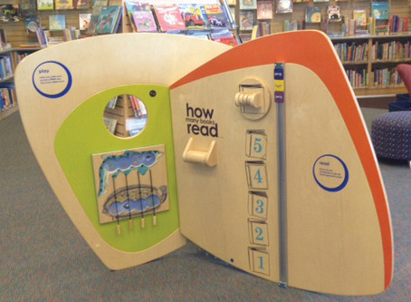 Early Childhood Learning Centers Now in All Libraries
