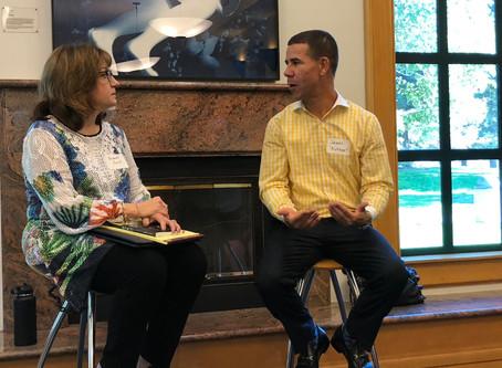 Inspiring Fireside Chat Kicks Off Banned Books Week