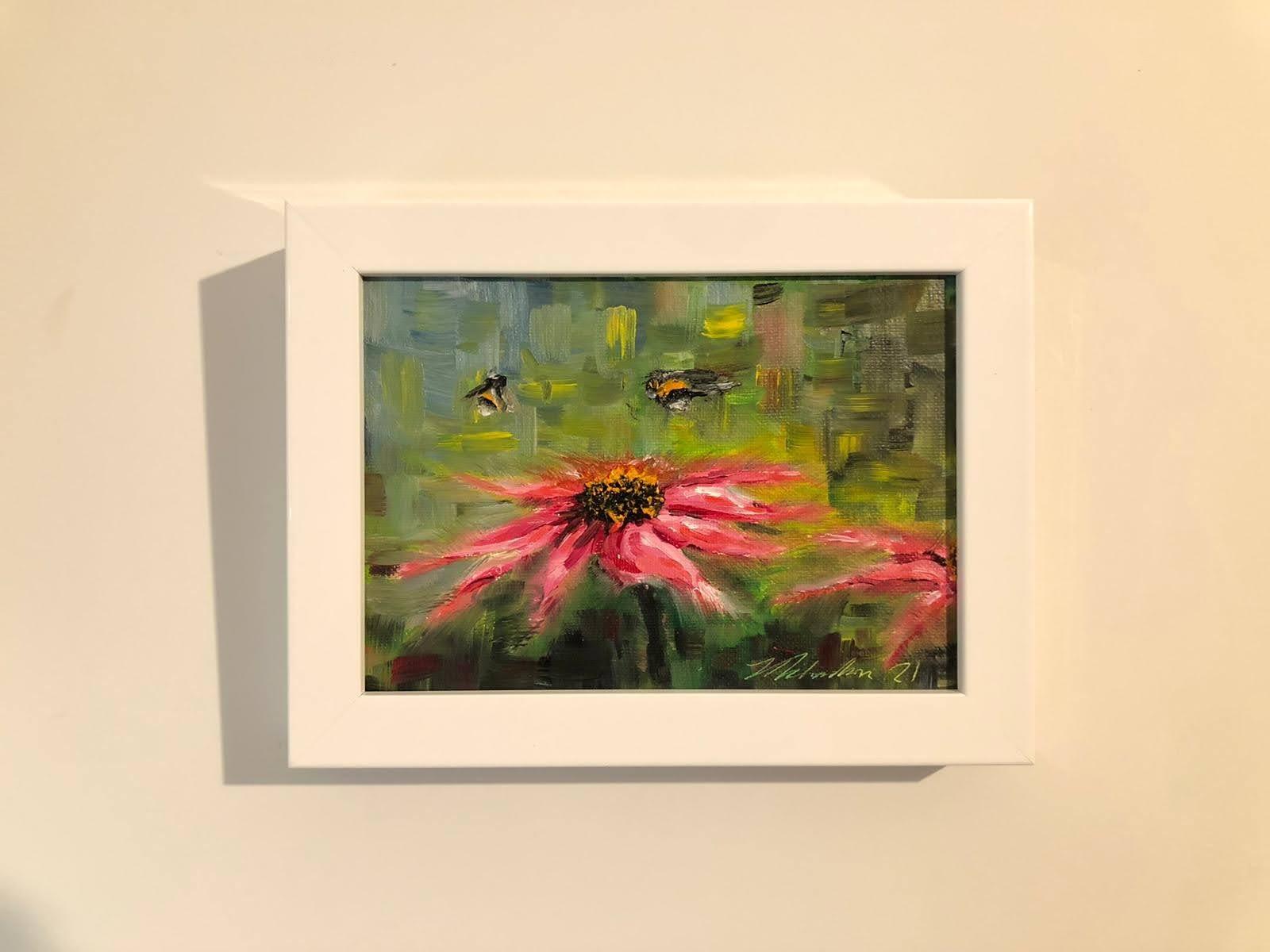 Bees and Echinacea II