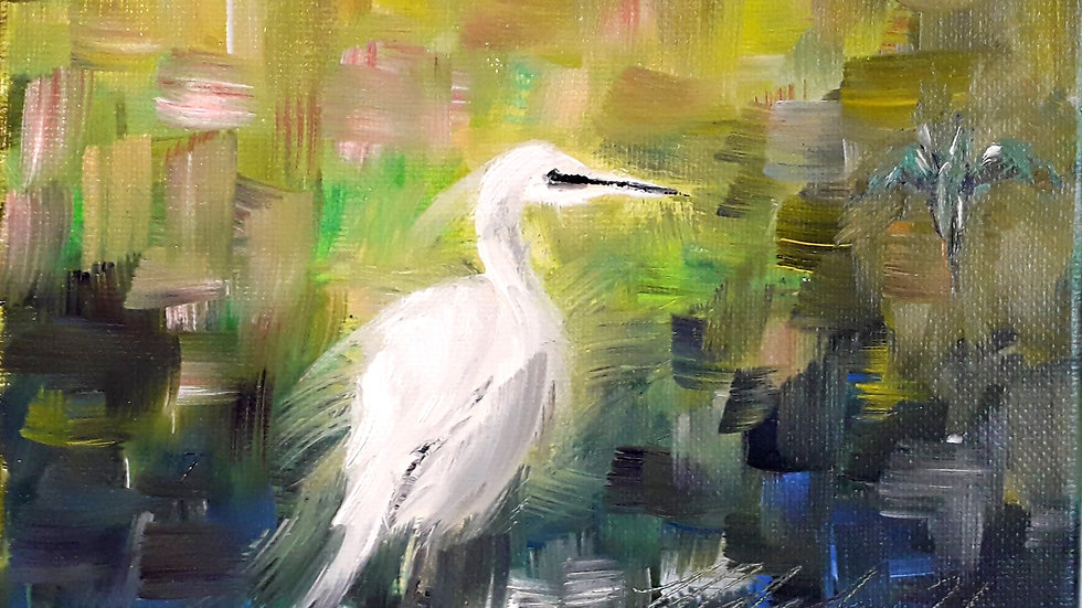 The Egret and the Kingfisher