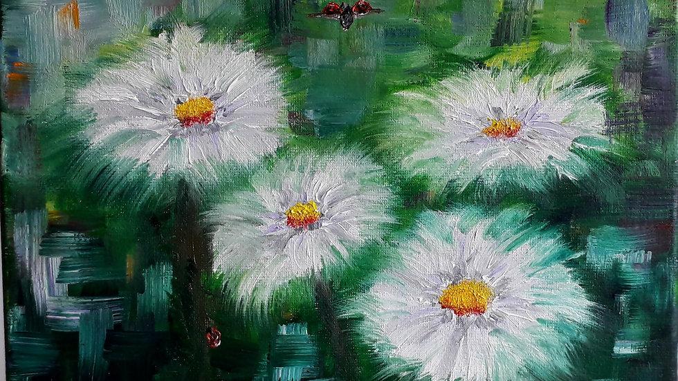 Ladybirds and Daisies III