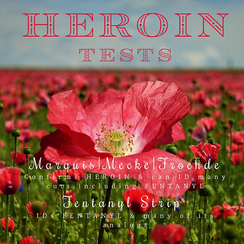 HEROIN TEST PACK | SAVE 10%