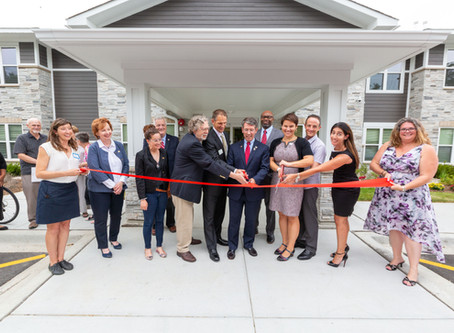 Heart's Place Celebrates its Grand Opening with Ceremonial Ribbon Cutting