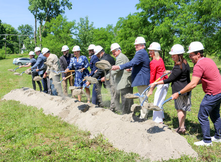 River's Edge Groundbreaking