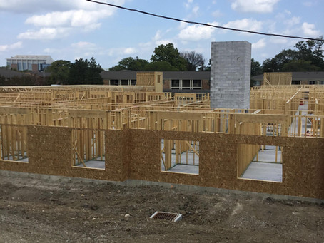 River's Edge Apartments Are Beginning to Take Shape