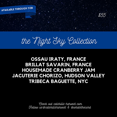 Cheese Board To Go - the Night Sky Collection