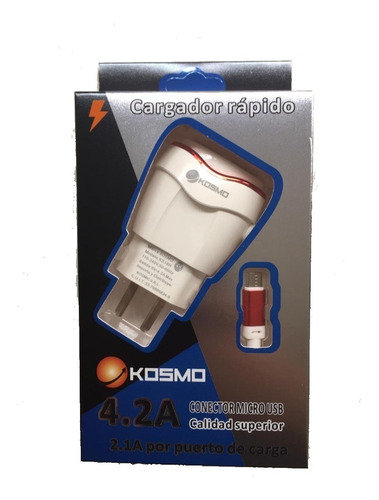 Cargador Turbo Kosmo 4.2 A
