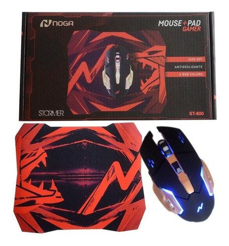 Mouse + Pad Gamer Noga