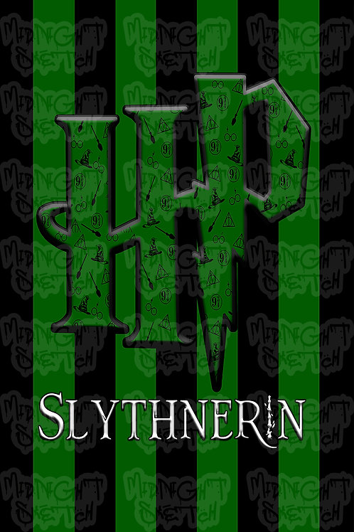 HP Slytherin Poster