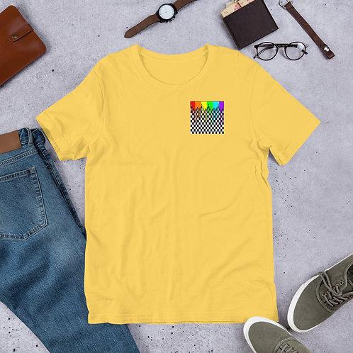 Checkered Rainbow Drip