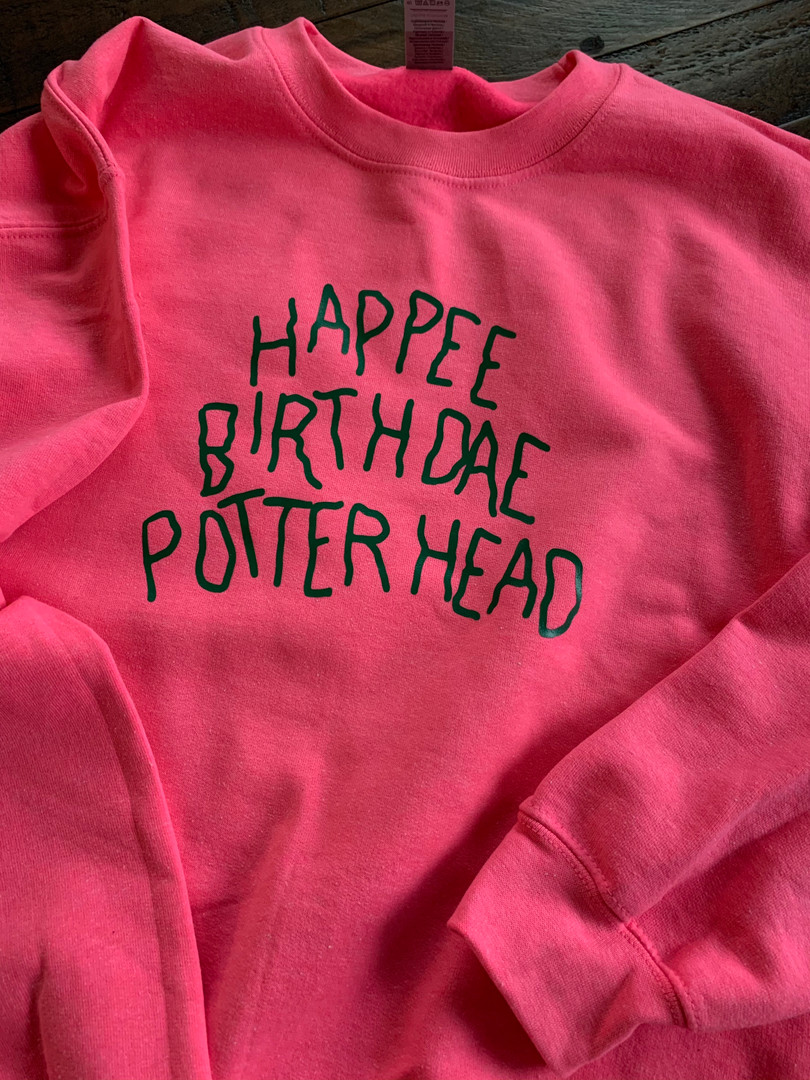 Happee Birthdat Potterhead Sweatshirt