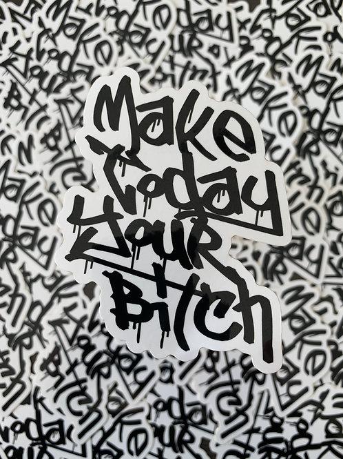 MTYB Black and White Sticker