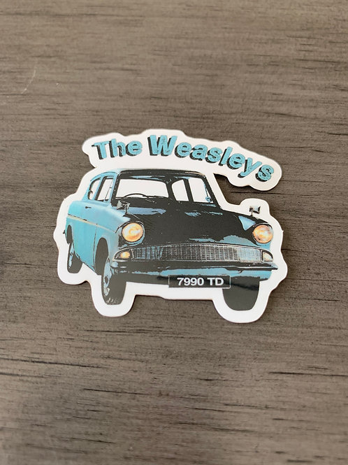 Weasleys Small Sticker
