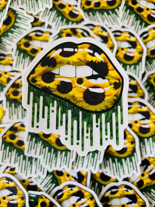 Sunflower Lips