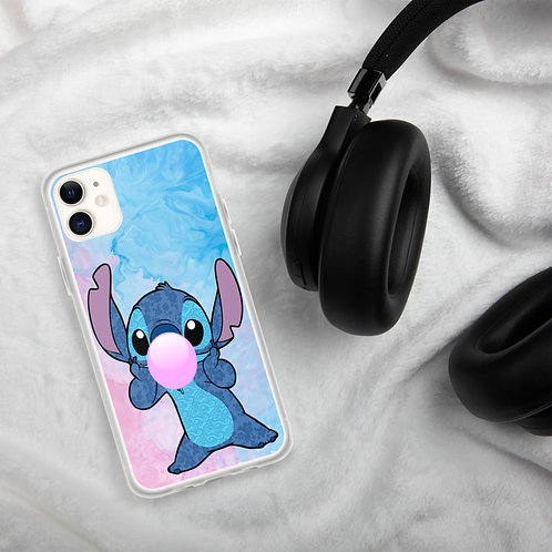 Bubble Gum Stitch iPhone Case