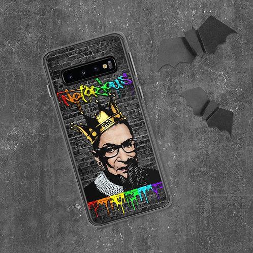 Notorious RBG Pride Samsung Case