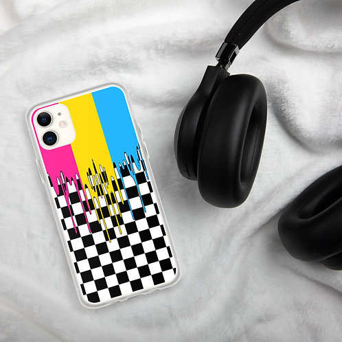 Pansexual Pride Colors iPhone Case