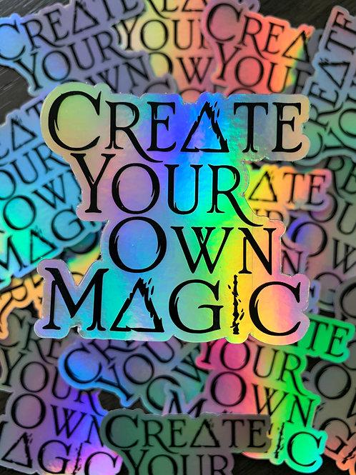 Create Your Magic Sticker