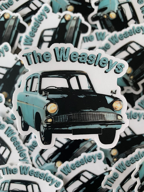 The Weasley's Sticker