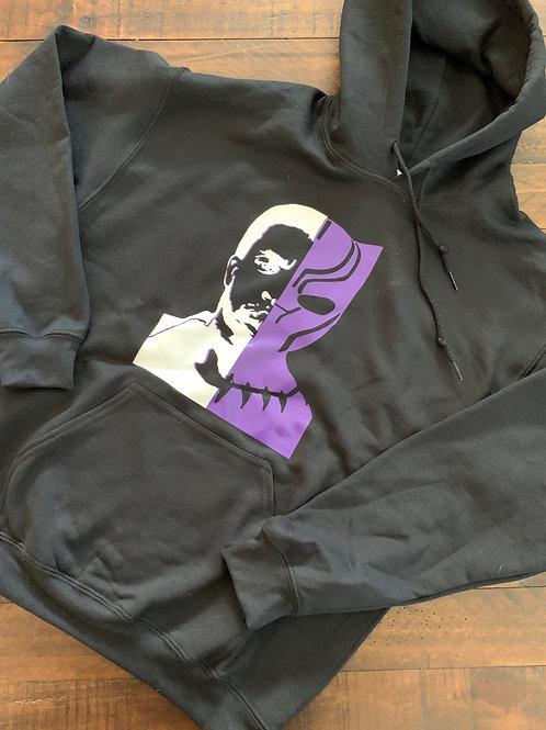 Black Panther Tribute Hoodie
