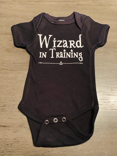 Wizard In Training Onesie