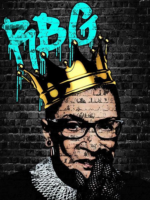 RBG The Hero Canvas
