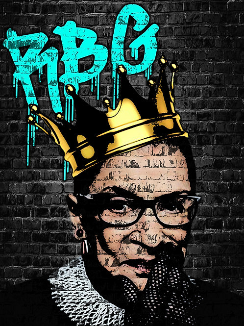 RBG The Hero Prints